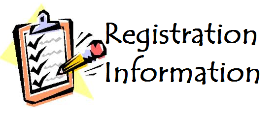 Registration Information: 2018-2019 School Year